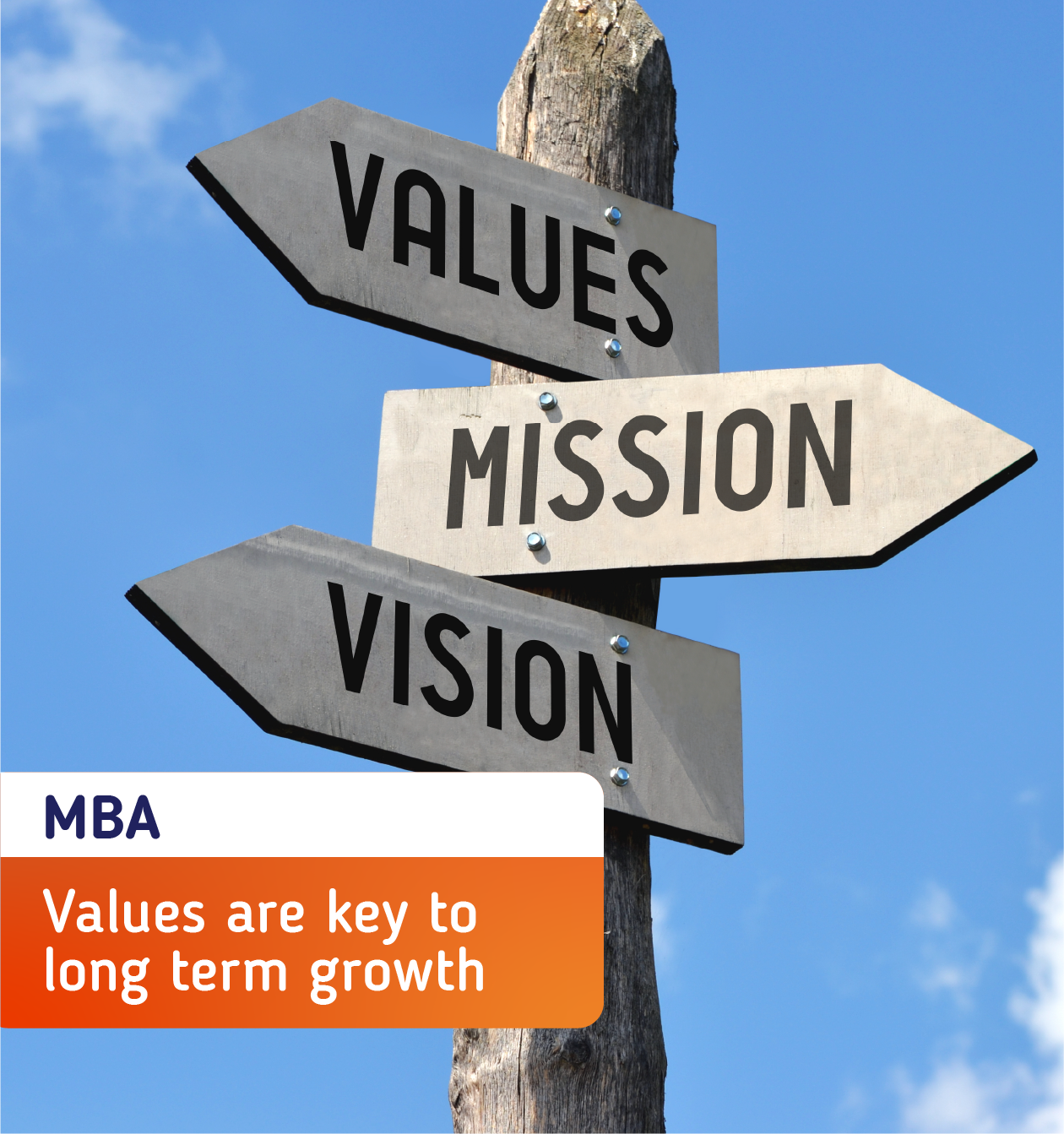 Values Are The Key To Long Term Business Growth And Survival