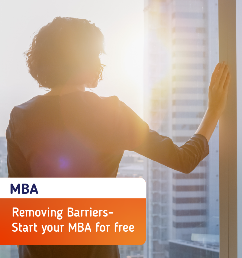 Removing Barriers – Start Your MBA For Free